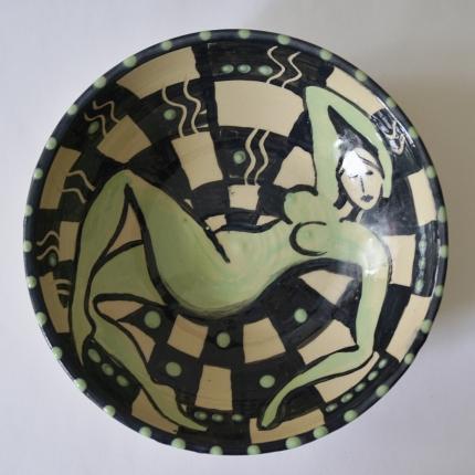 Slipped Stoneware Bowl (Ø20cm)